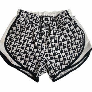 Nike Dri-Fit Tempo Shorts Size Small Black & White